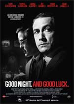 Locandina Film Good night, and good luck
