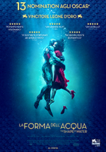 "Locandina Film La Forma dell""Acqua - The Shape of Water"