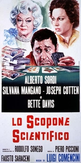 Locandina Film Lo scopone scientifico