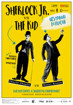 Locandina Film Sherlock Jr. vs The Kid